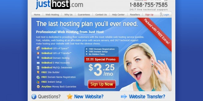 Justhost Company Review |  55% OFF Justhost Hosting Secret!