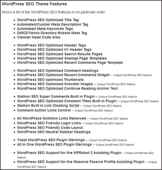 stallion-wordpress-seo-theme-features Stallion Wordpress SEO Theme Review