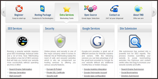 tmdhosting-extras TMDHosting Customer Reviews (Customer Ratings, Disadvantages, Support, Uptime, Coupons, ...)