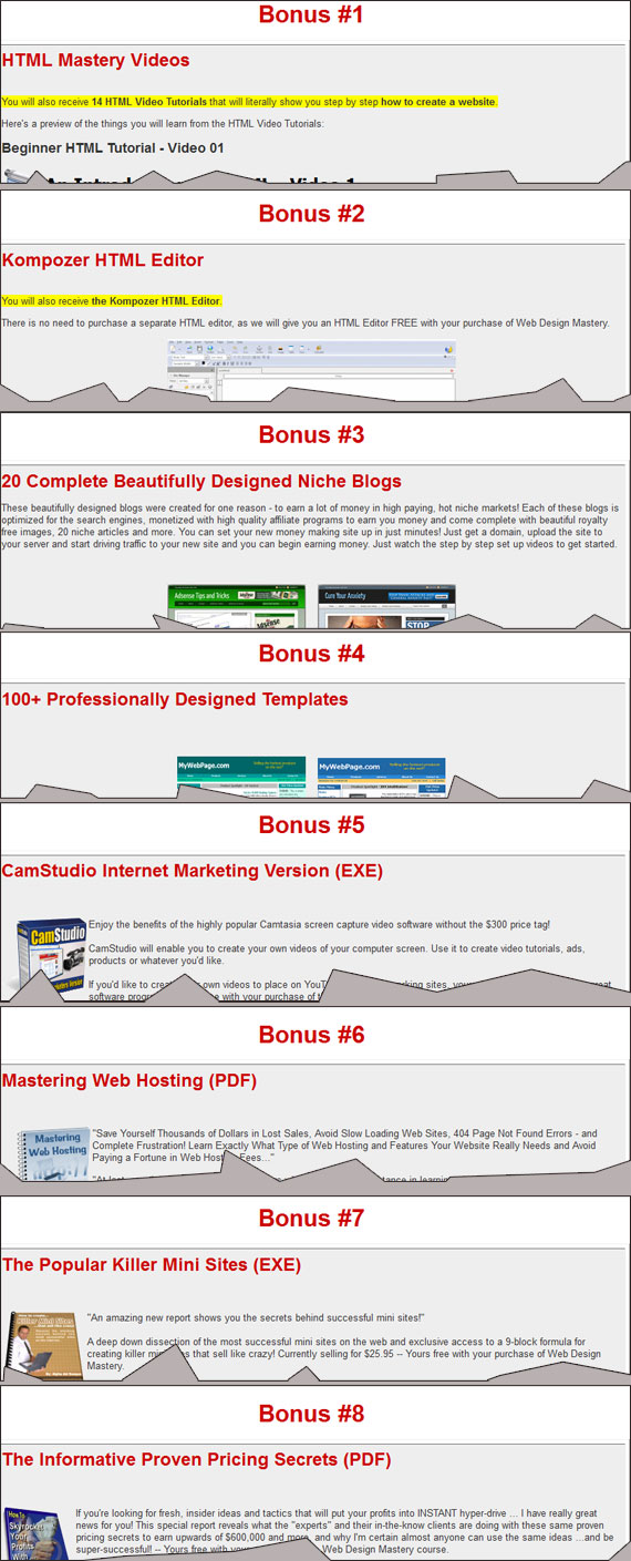web-design-mastery-bonus My Web Design Mastery Review (Disadvantages, Bonus, Discounts & More)