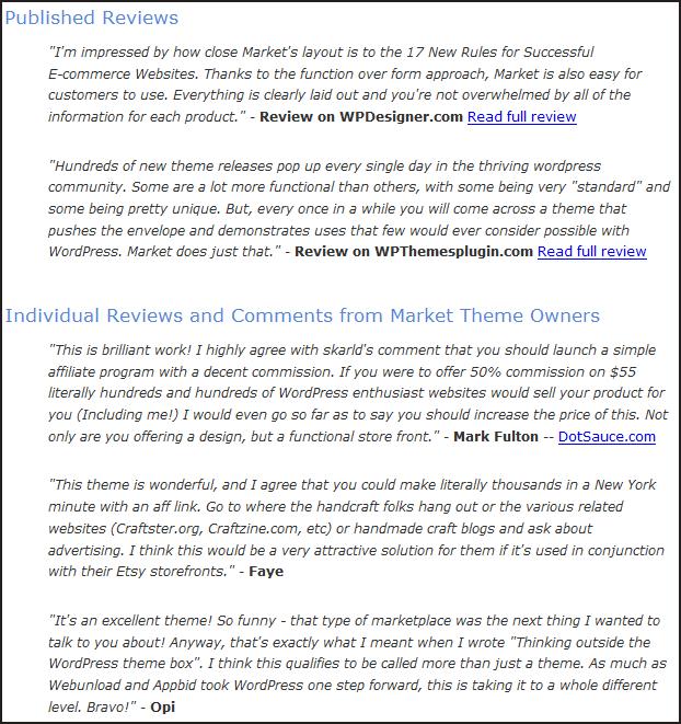 wordpress-market-theme-sale Detailed Wordpress Market Theme Review Explaining its Features
