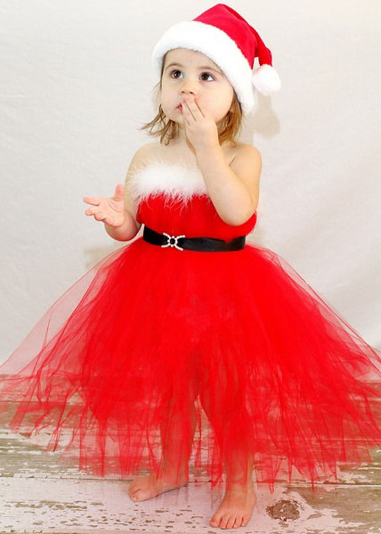 15-Awesome-Christmas-Costumes-Dresses-Outfits-2012 17 Fantastic Collection of Holiday Baby Dresses