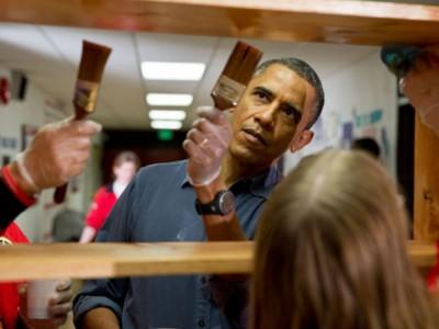 1937620131222661 Barack Obama worked as a carpenter