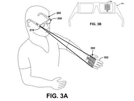 "2328102013125864 Google Glasses a ""keyboard"" on The Wrist"