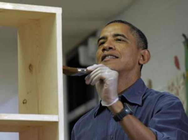 3909877786 Barack Obama worked as a carpenter