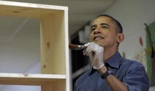 3909877788 Barack Obama worked as a carpenter