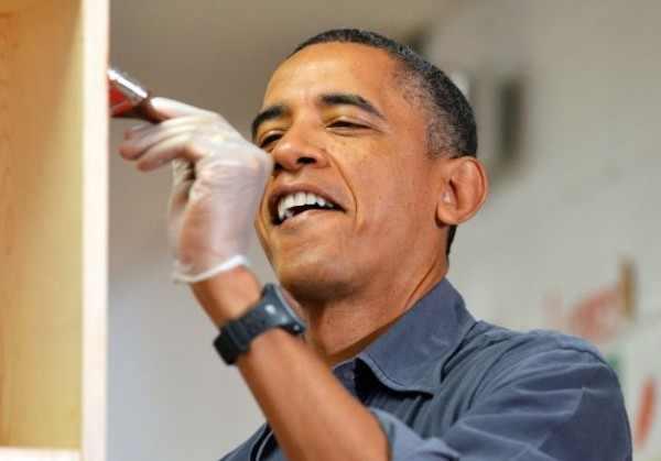 3909877791 Barack Obama worked as a carpenter