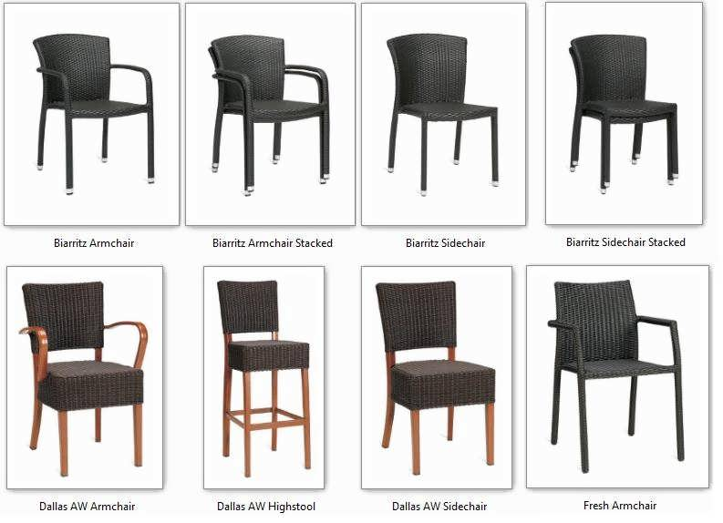 47-wicker-chairs-stools-furniture-outdoor Best Restaurant Indoor and Outdoor Chairs Designs