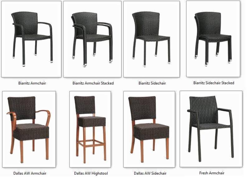 47-wicker-chairs-stools-furniture-outdoor Best Restaurant Indoor and Outdoor Chairs Designs
