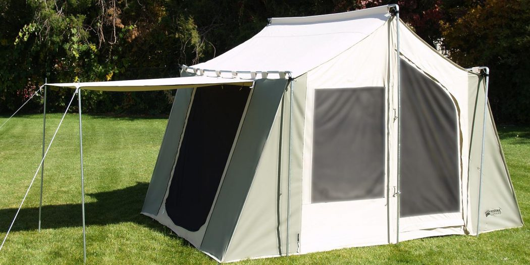 How you should choose canvas tents pouted online for Canvas tent plans