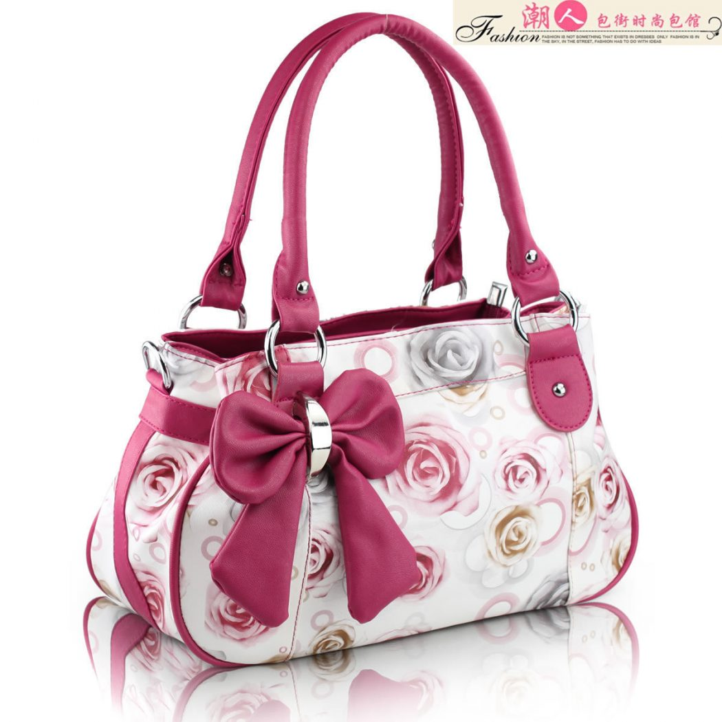 A-variety-of-patterns-optional-fashion-pu-black-rose-pattern-Women-s-shoulder-bag-bags-handbags Know Spring Colors!