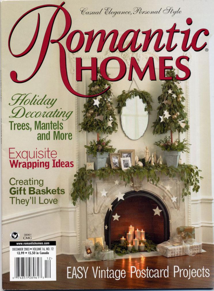 BVDRomanticHomes1203Cover Most Popular Home Decor Magazines
