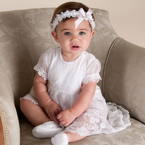 Baby-Girl-Romper-Dress-Melissa-Collection-Exquisite-Baby-Holiday-Outfits 17 Fantastic Collection of Holiday Baby Dresses