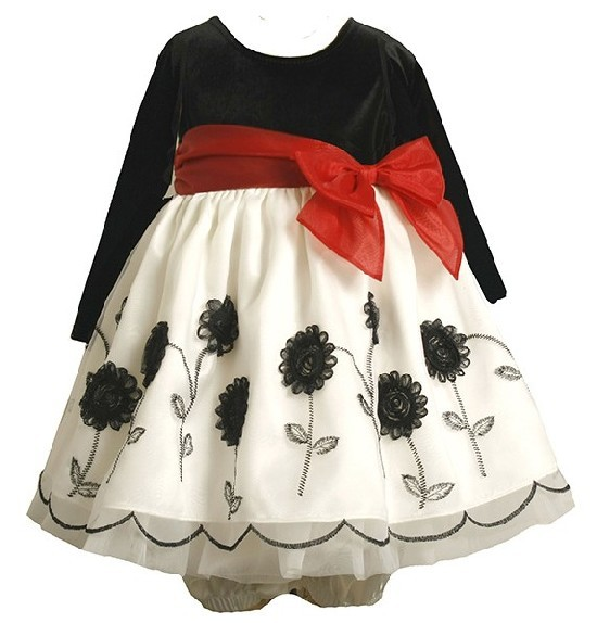 Baby-Girls-Bonnie-Jean-12m-Anza-Flower-Christmas-Dress-Holiday-12 17 Fantastic Collection of Holiday Baby Dresses