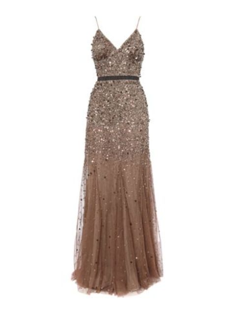 Beaded-Godet-Dress Do you have a party and do not know what to wear?