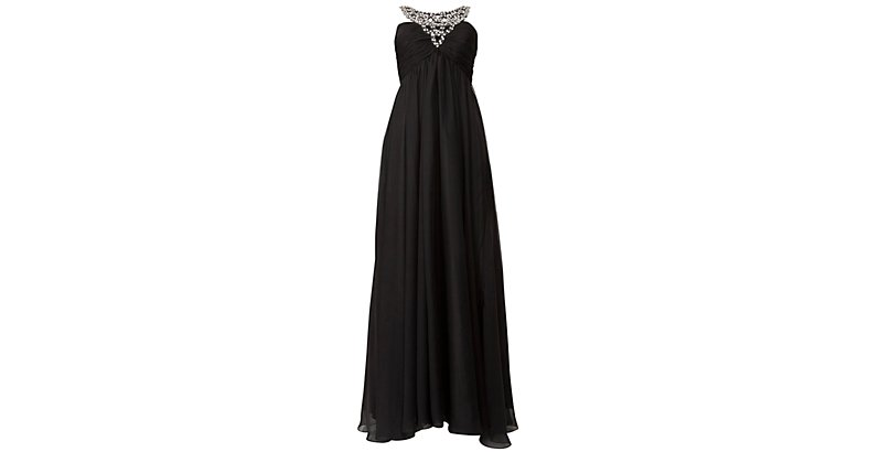 Black-Black-Ruby-Prom-Black-Sian-Embellished-Neck-Maxi-Dress-269703401-New-Look 19 Special Collection of Long Black Dresses