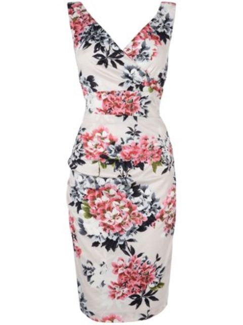 Bouquet-Print-Dress Do you have a party and do not know what to wear?