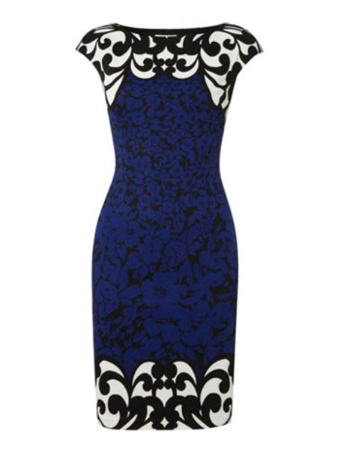 Cap-Sleeve-Mix-Print-Dress Do you have a party and do not know what to wear?