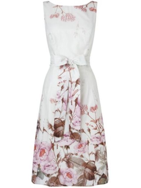 Chatsworth-Floral-Print-Fit-Flare Do you have a party and do not know what to wear?