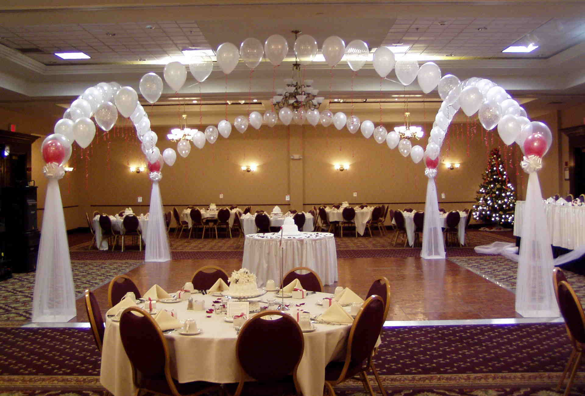 Wedding balloon decorations ideas party favors ideas for Balloon decoration ideas for weddings