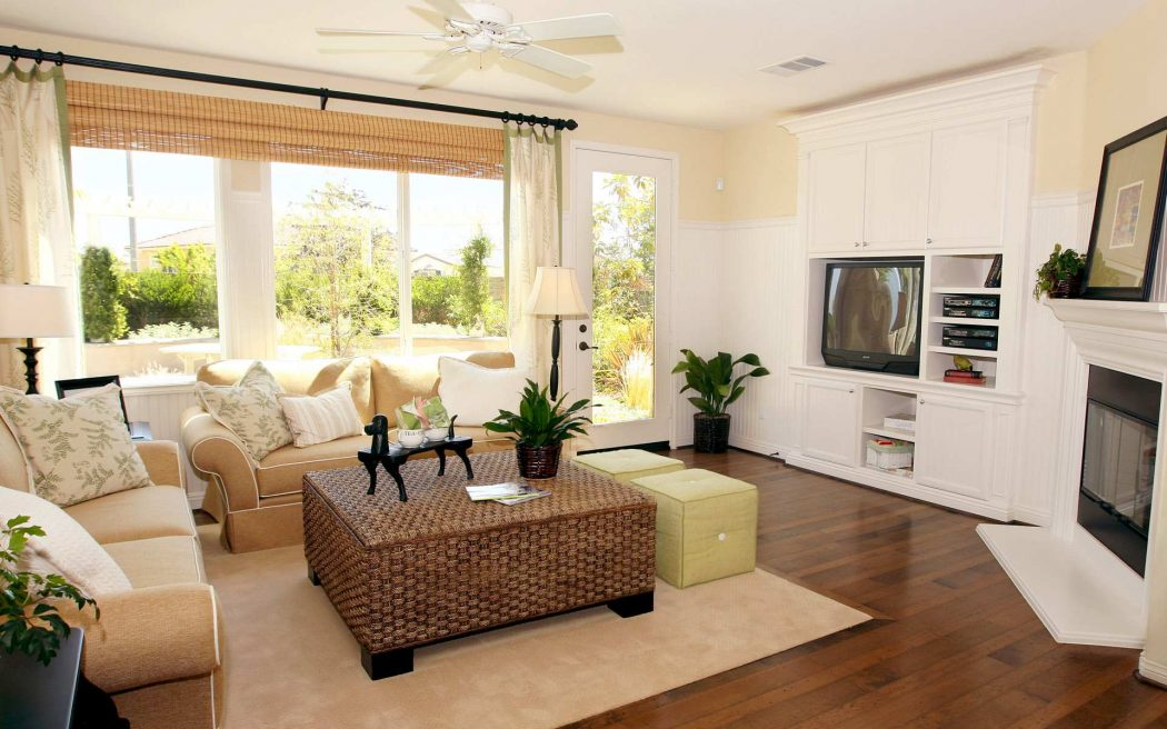 Classic-small-living-room-with-elegant-furniture 19 Ideas for Your Apartment Decorating