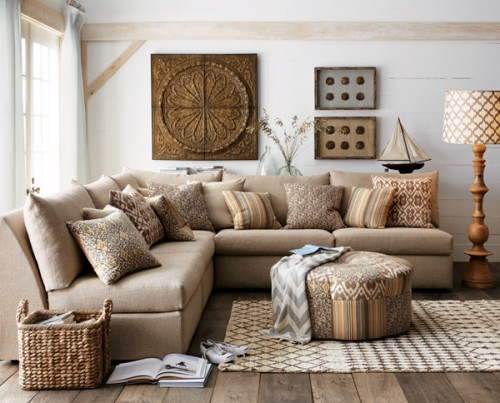 Coastal-living-room-design-with-natural-brown-colored-furniture-set-500x403 10 Most Stylish Cottage Furniture