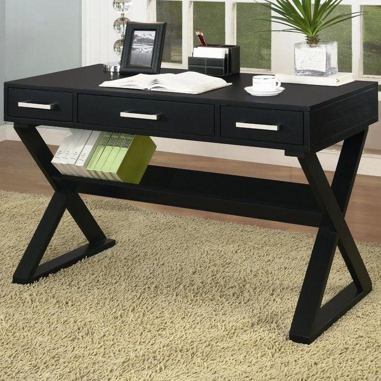 Coaster-Black-Office-Desk-800911 9 Black Office Desk Designs & How to Choose the Best one