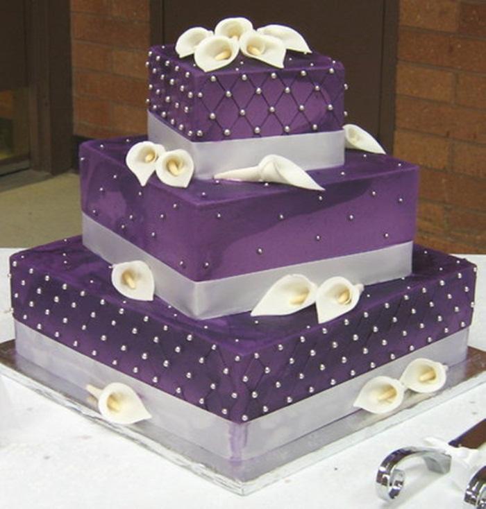 Copy-of-Purple-Wedding-Cakes-Lavender-Wedding-Decoration-Ideas Wonderful ideas for decorating your wedding