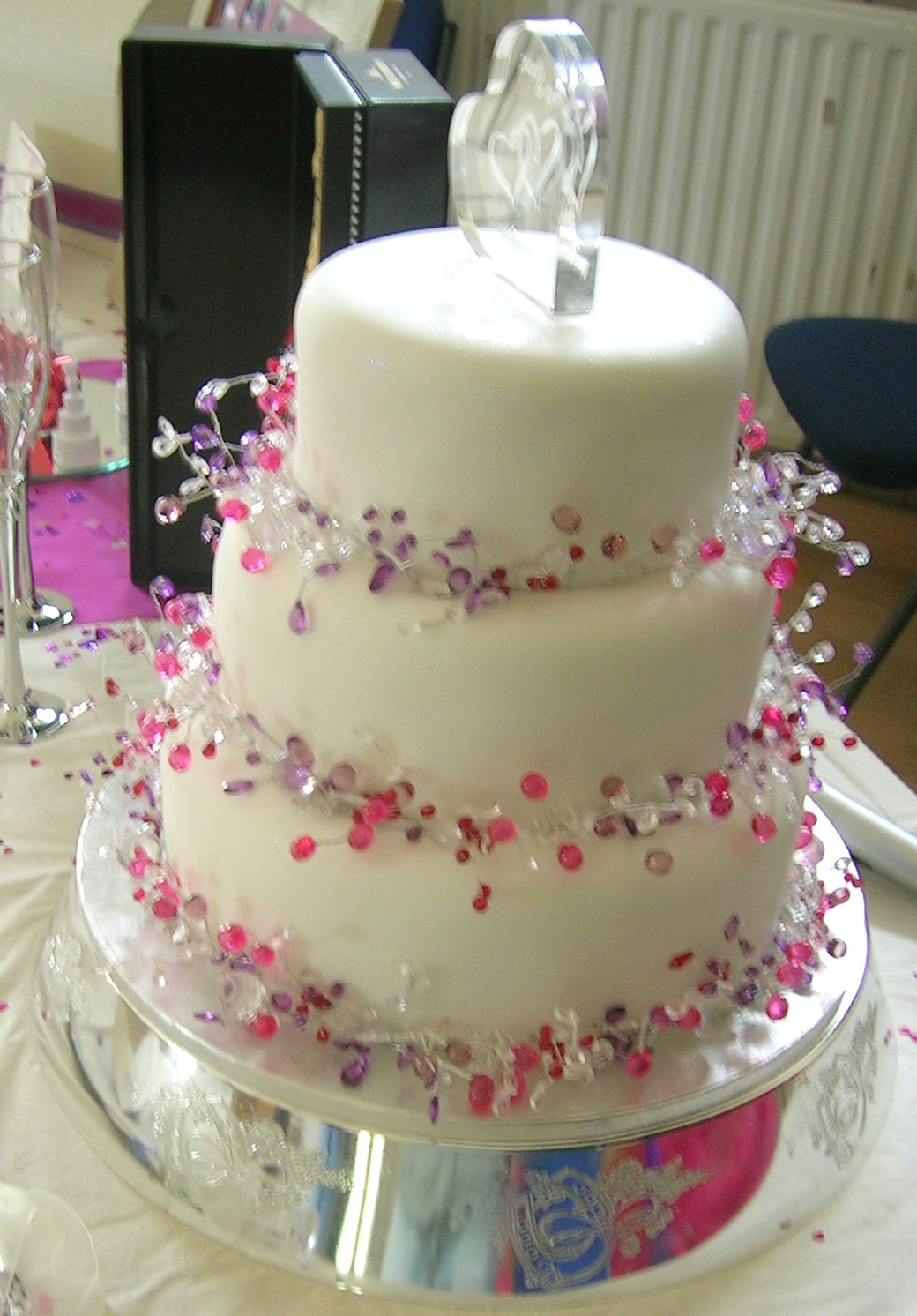Pin pin wedding ideas decor cakes flowers playlist cake on for Deco decoration
