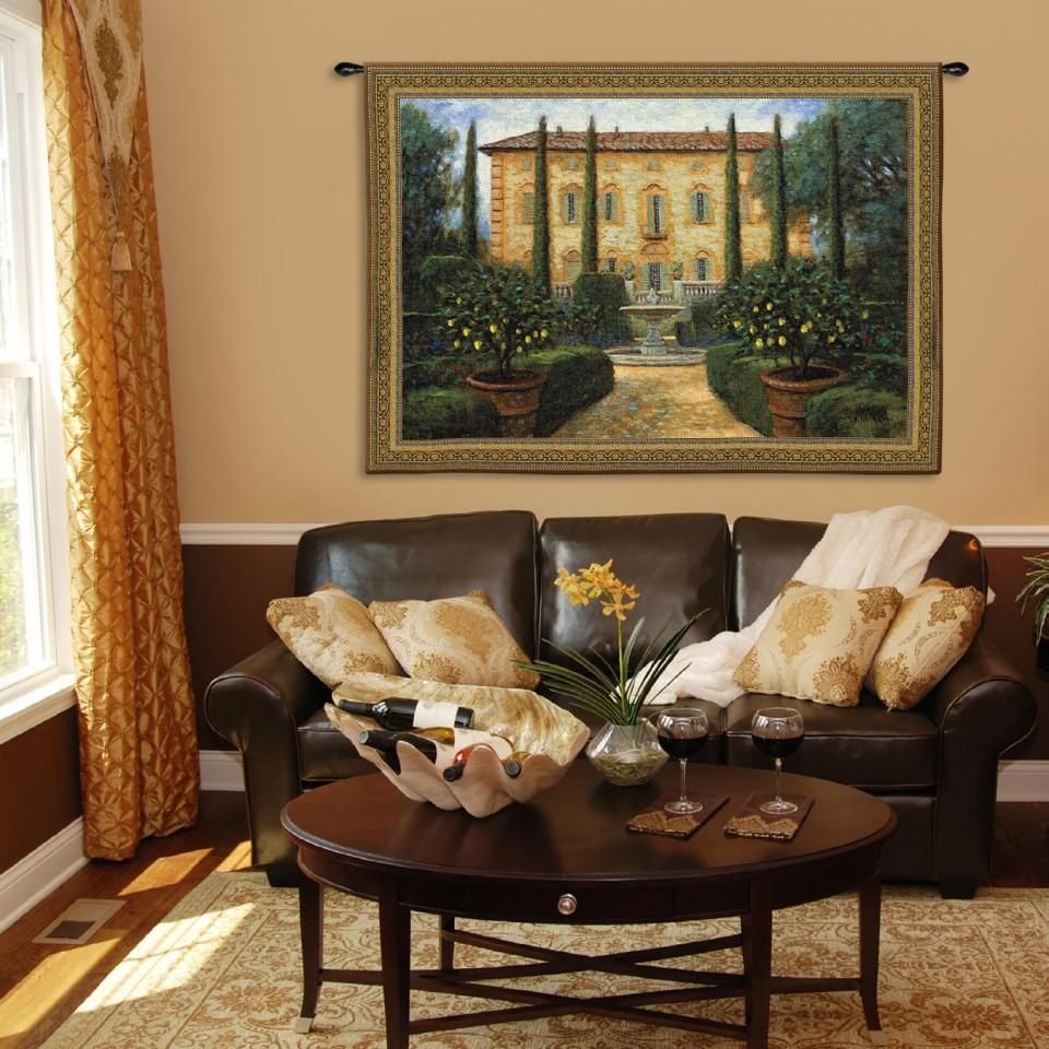 Decorating-your-wall-with-tapestries 16 Ideas for Wall Decor