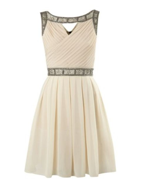 Embellished-Harness-Dress Do you have a party and do not know what to wear?