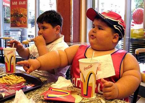 FatKids_311155840_std Know the Healthy Food