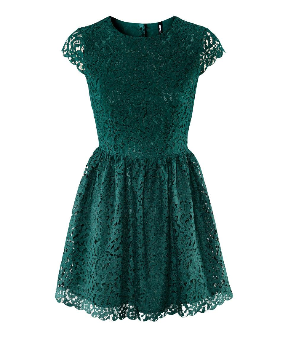 HMGreen Dresses You Can Wear in the Holiday Season