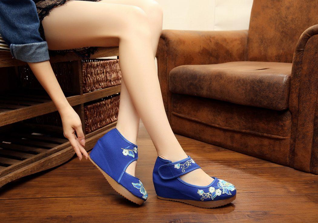 HTB1PAk7LpXXXXakXVXXq6xXFXXXI Most Popular Blue Women Shoes