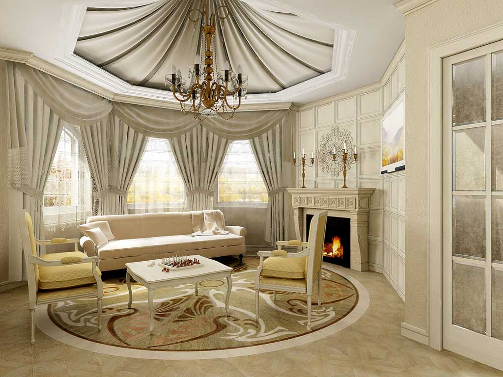 Living-room-with-natural-furniture Choose a New Color for Your Home in The New Year