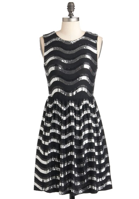 Mirror-Mirror-Ball-Dress-Short-Silver-Sequins-Holiday-Party Dresses You Can Wear in the Holiday Season