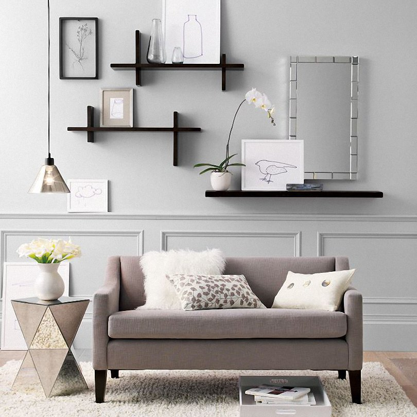Modular-Shelf-Wall-Decor-Furniture 16 Trendy Ideas for Wall Decor for 2019