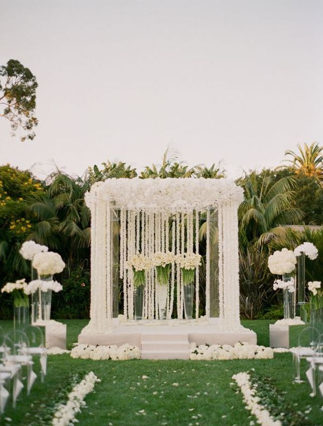 Outdoor Wedding Decoration Modern Home Exteriors