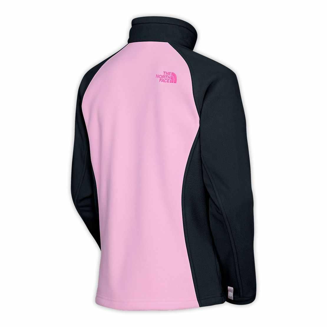 North-Face-PINK-RIBBON-KHUMBU-JACKET-Pink-Black-WOMENS How Women Choose Fleece Jackets