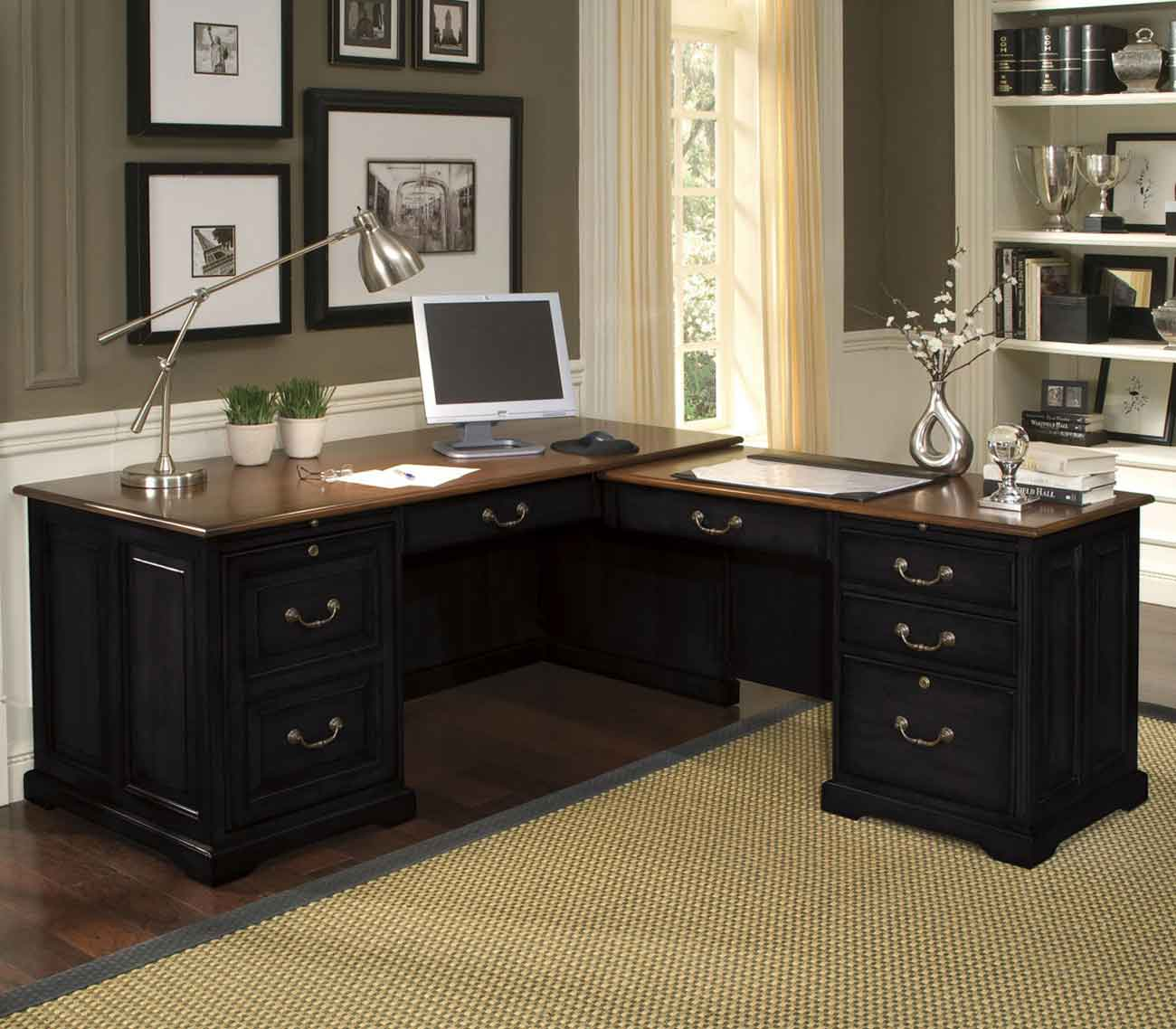 Most Popular Black Office Desk Designs And How To Choose