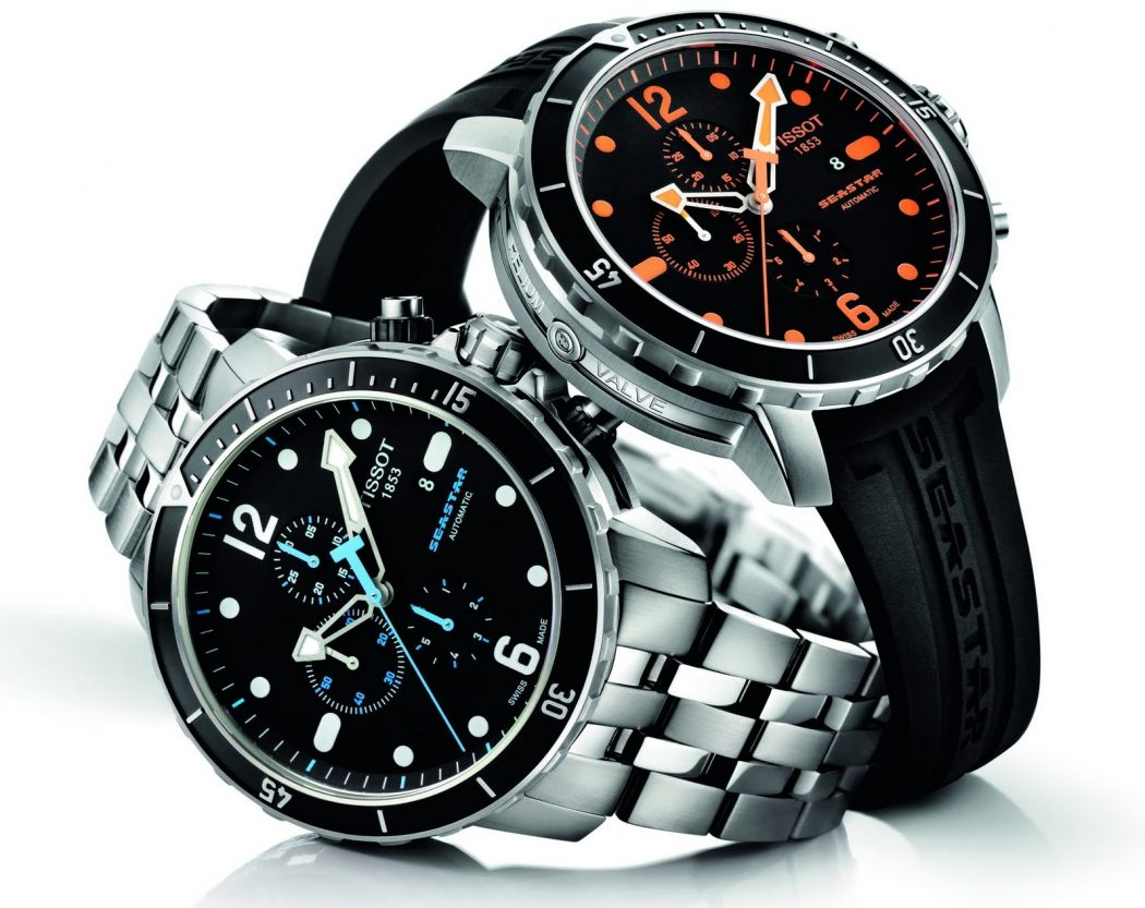 TISSOT-Seastar-1000-Chronograph-1 The chronograph Watch is Also a Stopwatch ...