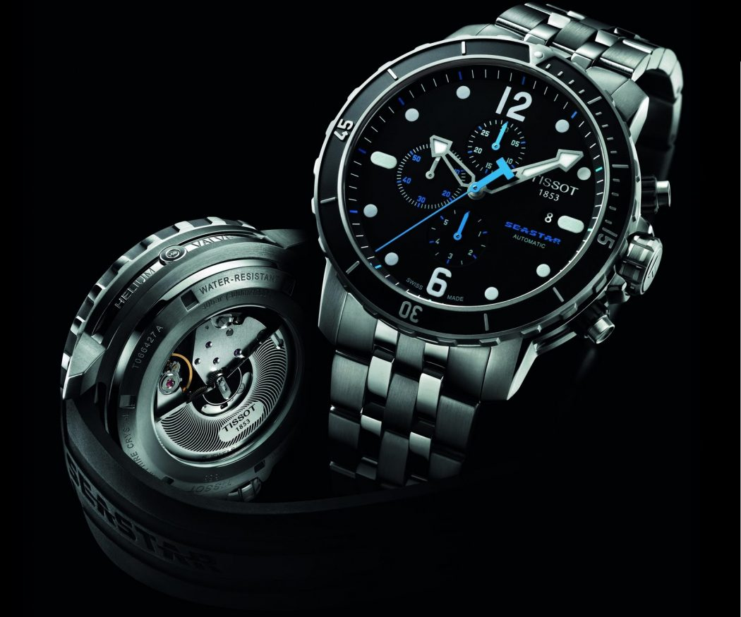 TISSOT-Seastar-1000-Chronograph-2 The chronograph Watch is Also a Stopwatch ...