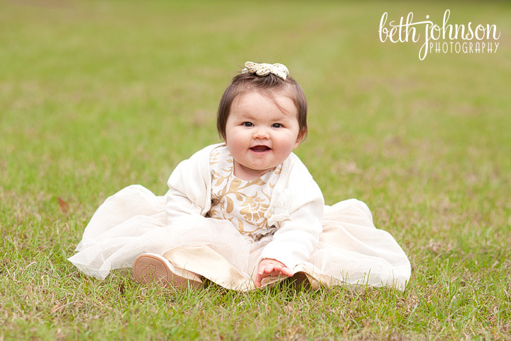 baby-girl-in-gold-and-white-holiday-dress-tallahassee-photography 17 Fantastic Collection of Holiday Baby Dresses