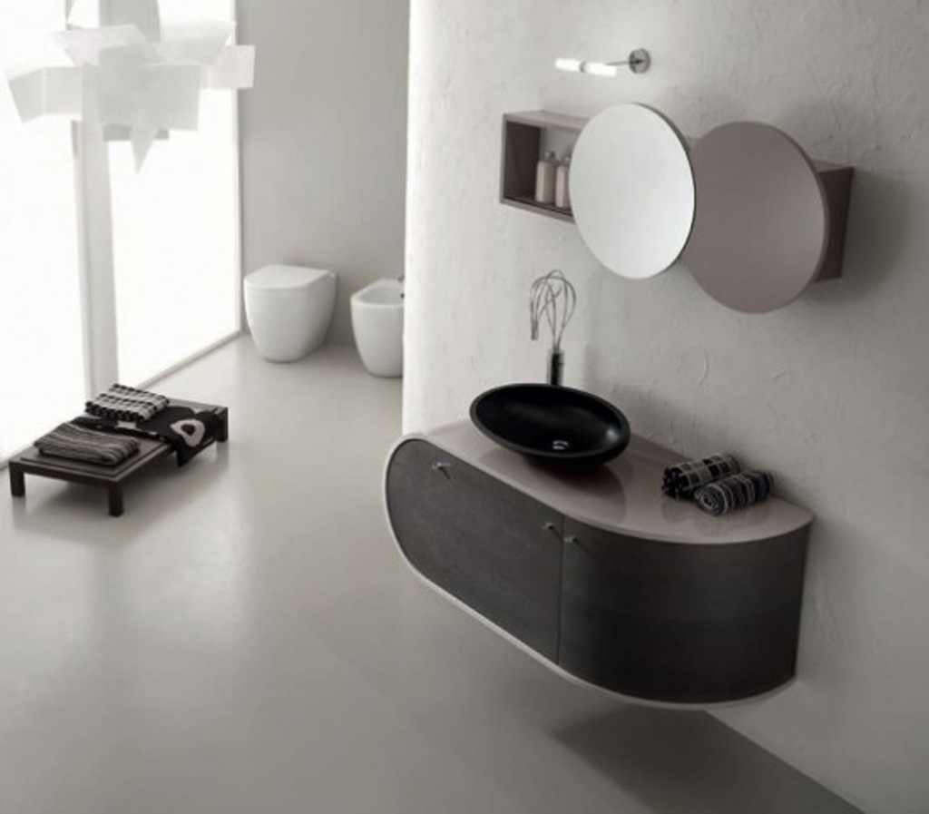 black-and-white-bathroom-furniture1 6 Beautiful Black and White Decor Ideas