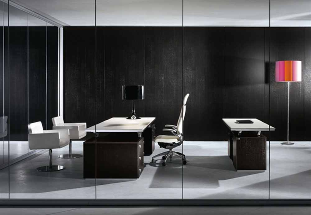 black-and-white-office-furniture-by-bibini-pic-01 6 Beautiful Black and White Decor Ideas