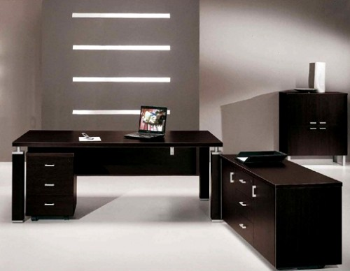 black-office-desk-3-500x388 9 Black Office Desk Designs & How to Choose the Best one