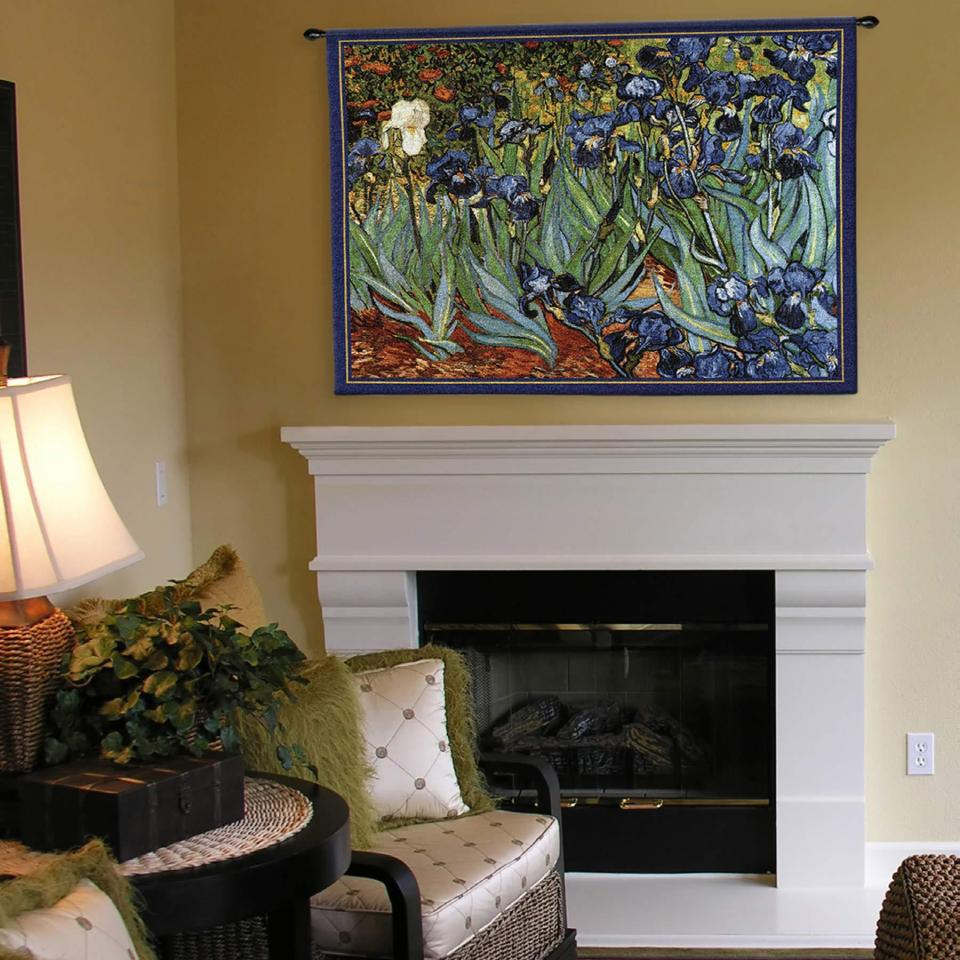 botanicals-van-goghs-irises-wall-tapestry-829-960 16 Ideas for Wall Decor