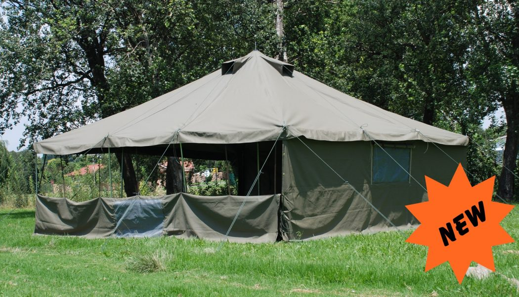 How you should choose canvas tents pouted online for How to make a canvas tent