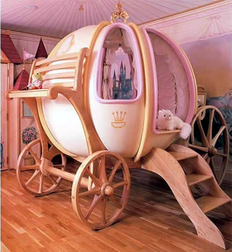 cinderella Extraordinary and dazzling ideas for decorating your bedroom