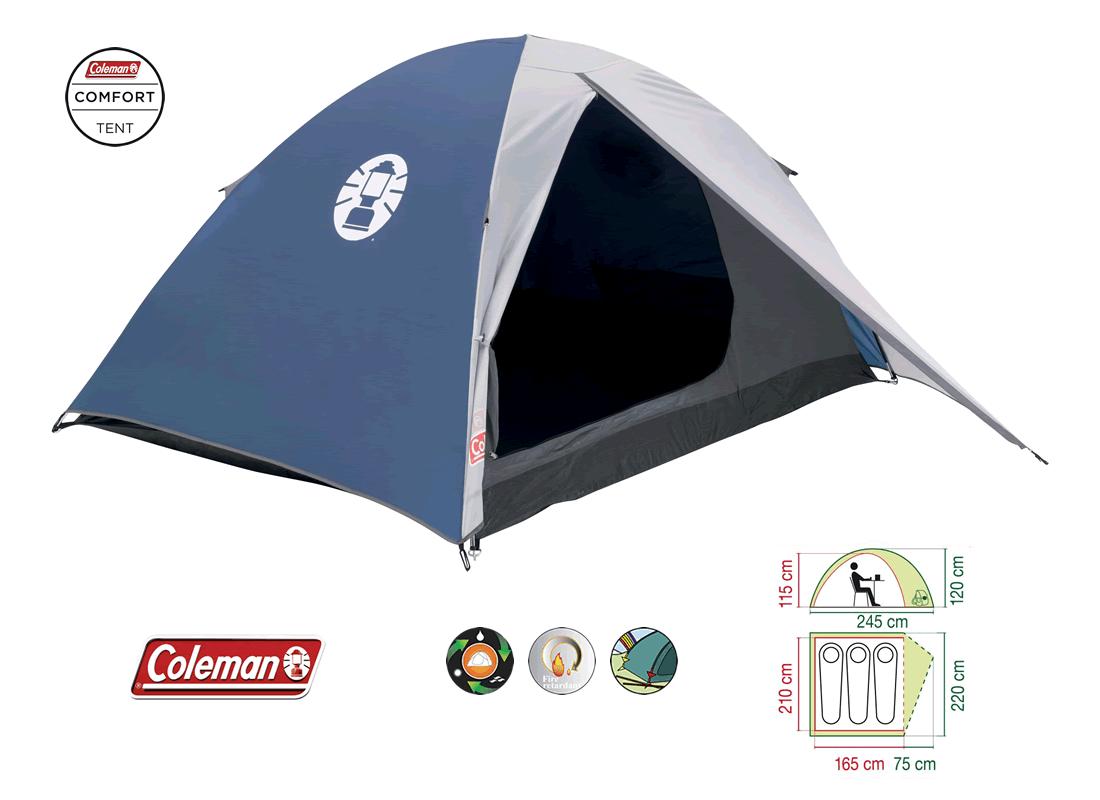 coleman-weekend-3-person-tent1-1 Top 9 Coleman Tent Designs